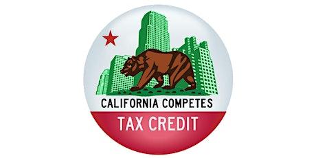 Irvine Area GO-Biz California Competes Tax Credit Presentation tickets