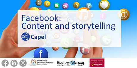 Facebook: Content and Storytelling tickets