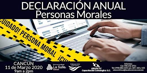 Declaración Anual Personas Morales