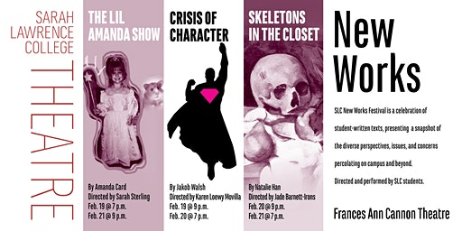 New Works: Crisis of Character