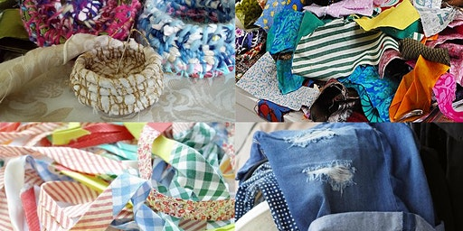 Recycled Fabric Random Basket Workshop