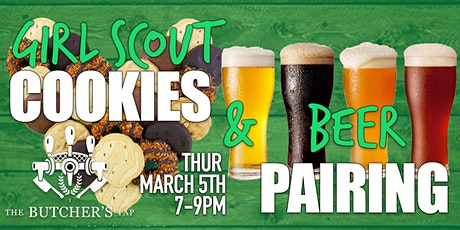 Girl Scout Cookies & Beer Pairing tickets