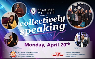 The Everyday Superhero Speaker Series - Fearless Voices tickets