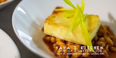 Yaya's Kitchen Supper Club, April