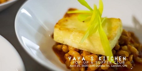 Yaya's Kitchen Supper Club, April tickets