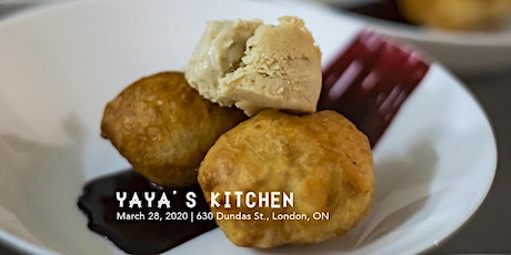 Yaya's Kitchen Supper Club, March tickets