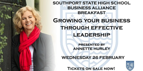 Southport State High Business Alliance Breakfast tickets