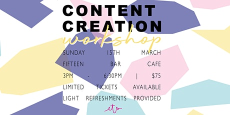 Content Creation Workshop with Ellie The Stylist tickets