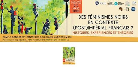Des féminismes noirs en contexte (post)impérial français? tickets