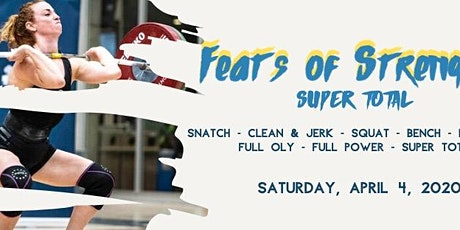 Feats of Strength: Supertotal meet tickets