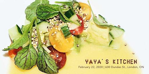 Black History Month Supper Club, Feb 22, 2020 by Yaya's Kitchen