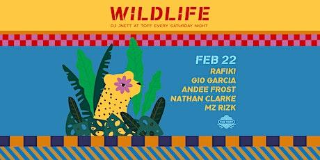Wildlife - Rafiki, Gio Garcia & Friends tickets