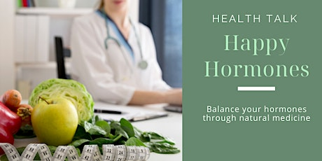Happy Hormones Health Talk Tickets