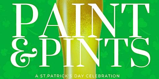 PAINT & PINTS - St.Patrick's Celebration