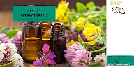 Aromathérapie (15h) - Sept.2020 billets