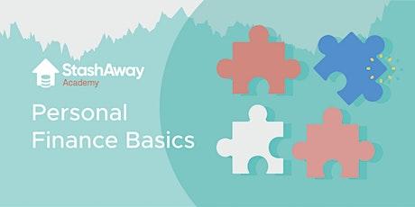Live Webinar: Personal Finance Basics tickets