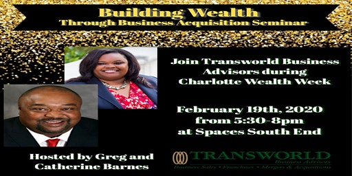 Building Wealth Through Business Acquisition