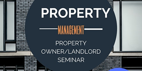 Have a Profitable Property Management Business! tickets