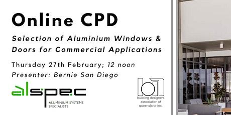 Online CPD with Alspec tickets
