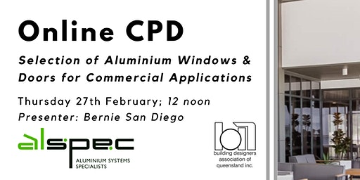 Online CPD with Alspec