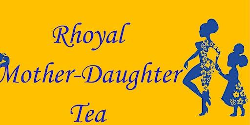 Iota Omicron Sigma Rhoer Club's 3nd Annual Rhoyal Mother-Daughter Tea