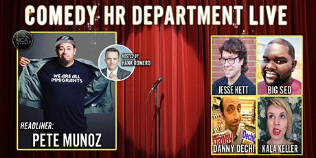 Comedy HR Department LIVE! Concord, CA - February 2020 tickets