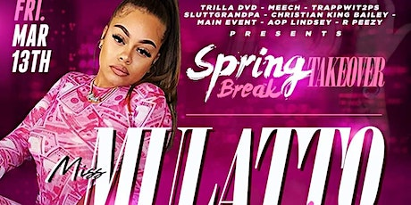 MULATTO Performing Live @ Whitehouse Nightclub Fri. March 13th! 18+ Event! tickets