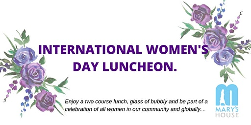 Mary's House - International Women's Day Luncheon