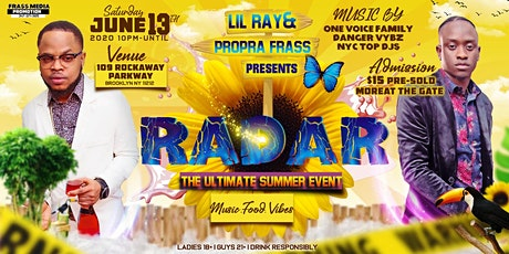 RADAR- THE ULTIMATE LADIES  SUMMER EVENT tickets