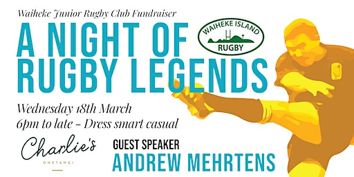 A Night of Rugby Legends