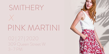 Smithery x Pink Martini tickets