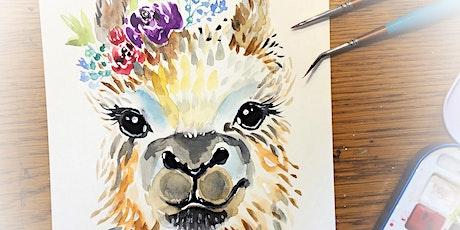 Boho Llama Workshop at Shop & Play Cafe tickets