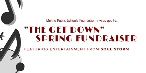"MPSF ""The Get Down"" Fundraising Concert featuring SOUL STORM"