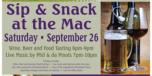 Sip & Snack at the MAC