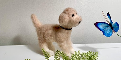 Needle Felted Dogs Workshop at Running Vines