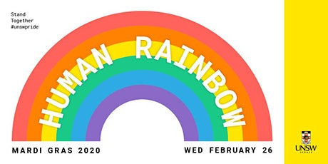 UNSW Human Rainbow tickets
