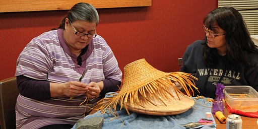 Southeast Cedar Hat Weaving with Holly Churchill