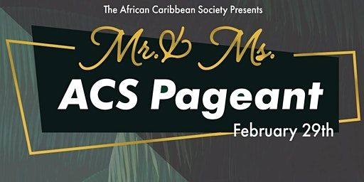 UNF's African Caribbean Society 2020 Pageant!