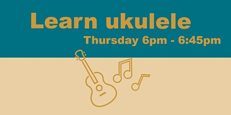 Ukulele Lessons with Sally tickets