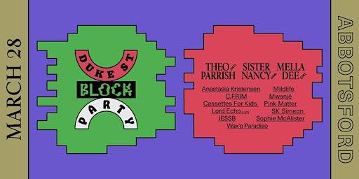 Duke Street Block Party 2020