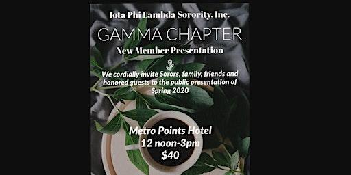 Iota Phi Lambda Sorority, Inc. Spring 2020 New Member Presentation
