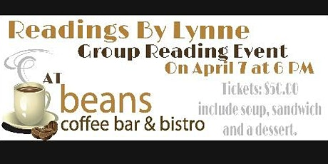 Readings by Lynne at Beans Coffee Bar & Bistro in Wetaskiwin tickets