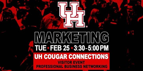 Copy of UH Cougar  Connections Networking Event tickets