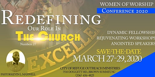W.O.W. - Women of Worship Conference 2020
