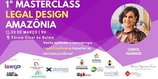 Masterclass em Legal Creatives Design