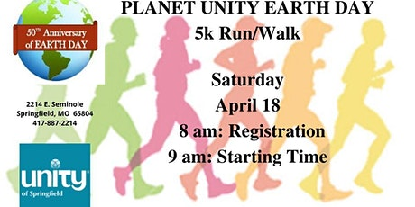 Earth Day 5K tickets