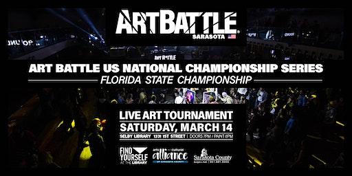 Art Battle Florida State Championship - March 14, 2020