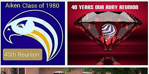 """Aiken High School Class of 1980 40 Year """"Ruby"""" Reunion"""