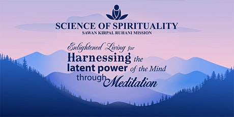 Harnessing the latent power of the Mind through Meditation tickets