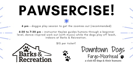 Pawsercise! (Exercise with your dog) tickets